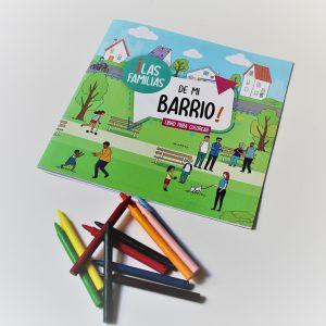 libro para colorear | APROFA | Materiales educativos