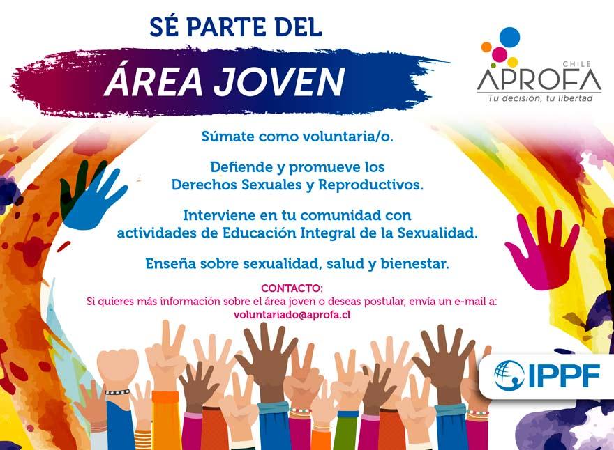 ¿Quieres ser voluntario/a del Área Joven?