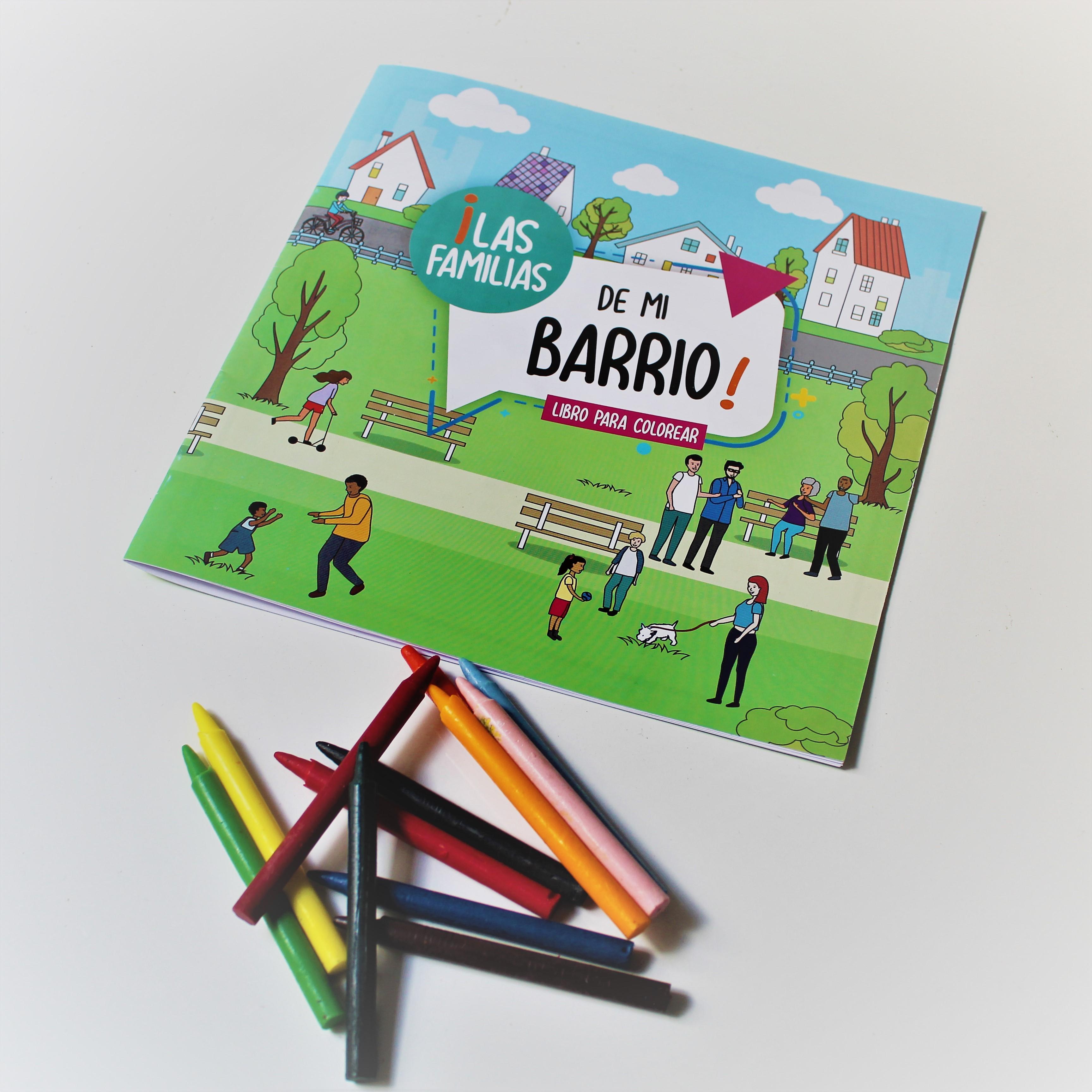 libro para colorear   APROFA   Materiales educativos