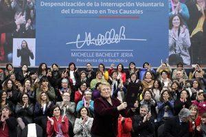 Chile despenaliza el aborto en tres causales